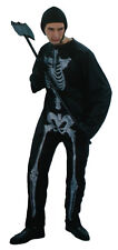 Skeleton Jumpsuit Adult Mens Costume Set One Size Dress Up Halloween Party New