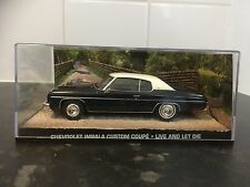 James Bond Car Collection 109 Chevrolet Impala Custom Coupe 1/43 Mint