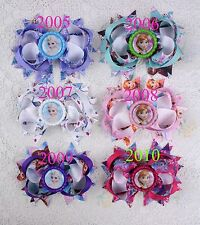 """Accesorry 6  princess baby Girl boutique Hair bows 4"""" with Bottle caps-2005"""