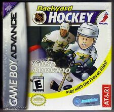 GBA backyard hockey (2003), Nintendo d'amérique, brand new & factory sealed