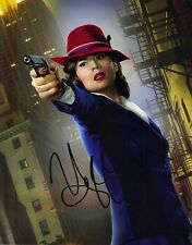Hayley Atwell SIGNED 10X8 Photo Captain America Agent Carter AFTAL COA (5560)