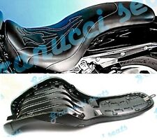 Honda Shadow VTX 1800C Fantasy Quality Seat with gel Comfort