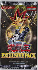 YuGiOh Exclusive Pack New Sealed Booster 8 Cards incl. 3 Ultra Rare Sphinx Cards