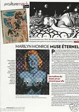 Coupure de presse Clipping 2012 Marilyn Monroe   (1 page)