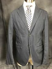 Corneliani Trend 3 roll 2 gray cotton unstructured sport coat jacket 40R Italy