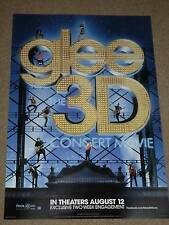 GLEE 13.5x20 PROMO MOVIE POSTER