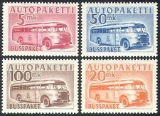 Finland 1952 Parcel Post/Postal Bus/Coach/Transport/Motoring 4v set (n41576)
