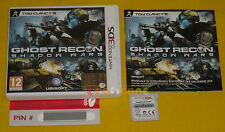 TOM CLANCY'S GHOST RECON SHADOW WARS 3Ds Versione Italiana Vip New •••• COMPLETO