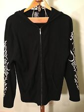 Men's Royalty By Raw-7 100% Cashmere Full Zip Hoody M VGUC