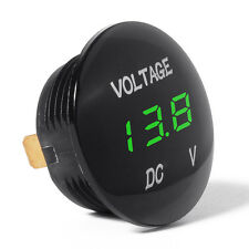 1xGreen LED Car Auto DC12-24V Panel Digital Voltage Volt Meter Display Voltmeter