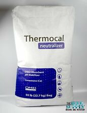 50 Pounds Calcium Carbonate Limestone Powder Organic Fertilizer - pH Neutralizer