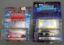 Muscle Machines '69 Boss 302 & Pro Rodz '67 Mustang GT Ford 1:64 Diecast Maisto