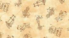 WESTERN ALBUM 7385 04 Brown Quilt Fabric BTY from Blank Quilting