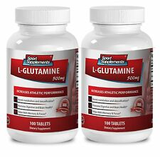 Extreme Fat Burner Pills - L-Glutamine 500mg - Glutamine Supplement 2B
