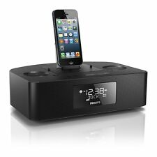 Philips iPhone 5S/6/6S/7 iPod Touch Nano Dock Docking Station Speaker FM Radio