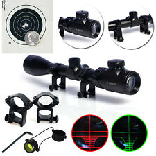 3-9x40 Air Rifle Gun Mildot Rifle Scope Telescopic Sight Illuminated Reticle