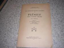 1937.Pléneuf sous l'ancien régime / Joly.Saint Brieuc.Cotes d'armor