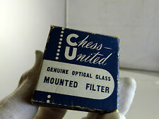 Chess United Chroma Filter For Lenses f1.9 f2.5 f2.7 f3.5 14mm OD screw in type