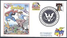 Obama - Palin  Superman-Woman The Archies Comics Election Fancy Cancel (FDC)-DWc