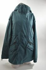 2012 WOMENS ROXY FIREFLY SNOWBOARD JACKET $230 M atlantic wash blue 10k USED