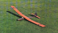 "Vintage SINBAD SUPREME 94"" RC Sailplane Model Airplane PLAN + Building Article"