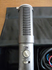 Rare Sony Professional ECM-979 variable stereo field Condenser Microphone ex BBC
