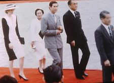 PRINCESS DIANA & PRINCE CHARLES in Japan - Original 35mm COLOR Slide
