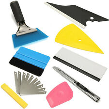 8pc Squeegee Car Auto Window Tinting Film Wrapping Install Applicator Tools Kits
