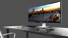 """Dell Ultra-Sharp U3415W 34"""" Curved LED-Lit IPS Monitor W/ Speakers & 3 year Warr"""