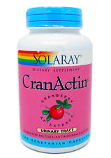Solarary CranActin Cranberry Extract Urinary Tract 120 Vegicapsules