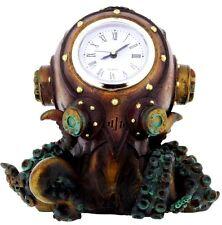 Nemesis Now Clocktopus 16.5cm-Steampunk Gothic Desk Octopus Clock Ornament