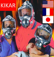 Emergency Escape Hood Oxygen Mask Respirator 60 Minutes Fire Smoke Toxic Filter