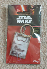 STAR WARS KEY RING First Order Stormtrooper Ep7 The Force Awakens Lenticular Fob