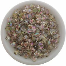 Swarovski Crystal 5328 XILION Bicones 4mm - PURPLE HAZE (24 PCS)