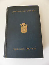 Compendium of Emanuel Swedenborg's Writings 1885 RARE esoteric, theology, occult