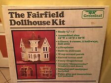 Estate Dollhouse Wooden Kit Dream Gift Fairfield Victorian Doll House. (1983)
