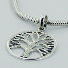 Silver Round Frame Tree of Life Pendant Sterling Silver 925 Best Deal Jewelry