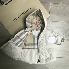 BNWT Gorgeous BURBERRY Baby Girls coat 1m RRP €189 & Lots More 100% Genuine