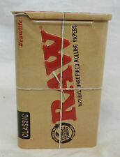 Classic Raw Slide Top Cigarette / Tobacco Tin  - BNIB