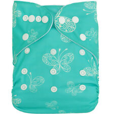 Nice Butterfly Baby Cloth Diaper for Girl Washable Reusable Nappy W/Insert in US