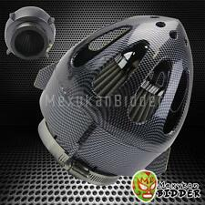 63.5mm Carbon Fiber Bullet Sheild High Flow Mesh Short Ram Cold Air Intake Filte
