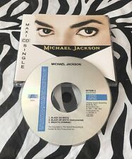 Michael Jackson - Black Or White Rare CD Single