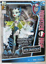 Monster High Full Size EXCLUSIVE Doll Power Ghoul FRANKIE STEIN VOLTAGEOUS LoSh