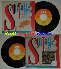 LP 45 7'' CARLOS SANTANA Say it again Touchdown raiders 1985 italy CBS*cd mc dvd