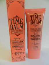 theBalm Face Primer base TIME BALM 30ml Full Size NEW makeup stay put