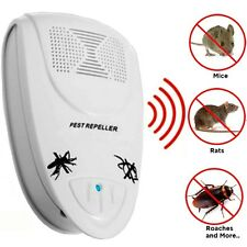 Ktrack Ultrasonic Pest Repeller For Insect Mouse Cockroach Mosquitoes