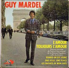 """GUY MARDEL """"L'AMOUR TOUJOURS L'AMOUR"""" MOD JERK 60'S EP AZ 1061"""