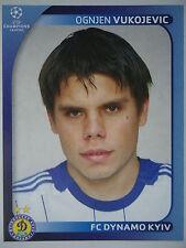 Panini 258 Ognjen Vukojevic Dynamo Kyiv Kiew UEFA CL 2008/09
