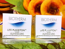 BIOTHERM LIFE PLANKTON Mask Integral Recovery Treatment 30ml =15ml x2pcs Sample