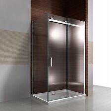 Parois de douche en verre NANO EX806, porte coulissante droite, 90x120x195cm